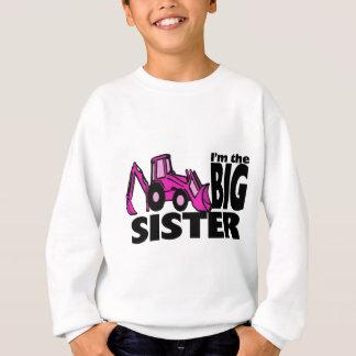 Backhoe da irmã mais velha t-shirts