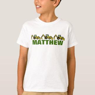 Backhoes para Matthew Camisetas
