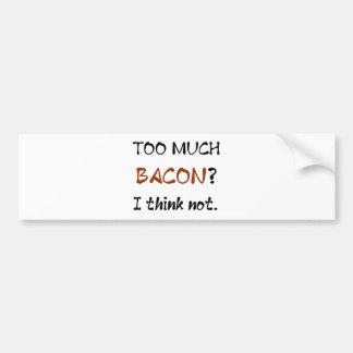 Bacon Adesivo Para Carro