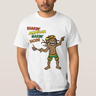 Bacon jamaicano de Shakin Makin T-shirt