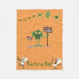 Bactérias Boy® & cobertura do velo de Teeth® do Cobertor De Lã