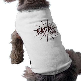Badass Camisa Sem Mangas Para Cachorro