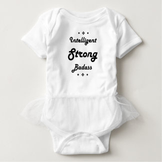 Badass forte inteligente inspirador t-shirt