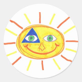 Badass Sun Adesivo