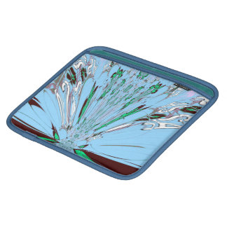 Bagworks azuis do rickshaw de Sararis da reflexão Bolsa Para iPad