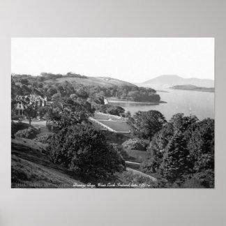 Baía antiga de Bantry, cortiça ocidental Ireland Poster
