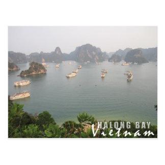 Baía de Halong, Vietnam Cartão Postal
