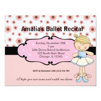 Bailarina Convites