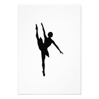 Bailarina Convites Personalizado