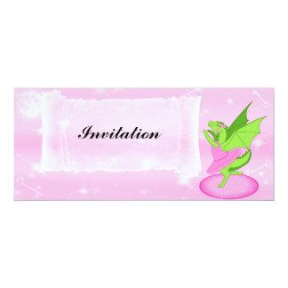 Bailarina cor-de-rosa convites