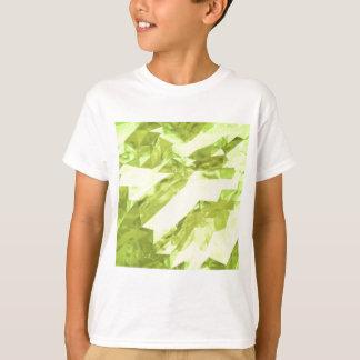 Baixo abstrato poli tshirt