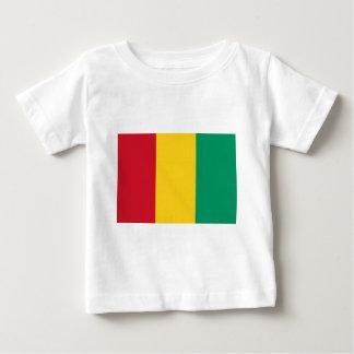 Baixo custo! Bandeira da Guiné Camiseta Para Bebê