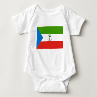Baixo custo! Bandeira da Guiné Equatorial T-shirt