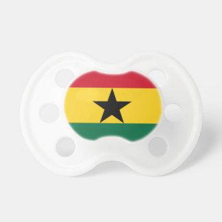 Baixo custo! Bandeira de Ghana Chupeta