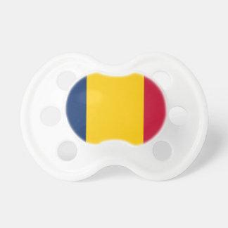 Baixo custo! Bandeira de República do Tchad Chupeta De Bebê