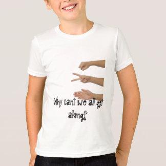 balance as tesouras de papel porque o cant nós camiseta