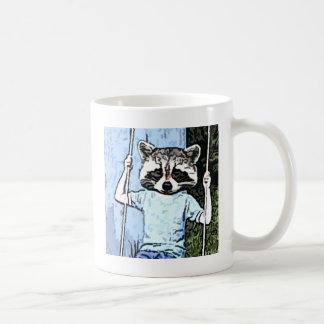 balanço do guaxinim caneca de café