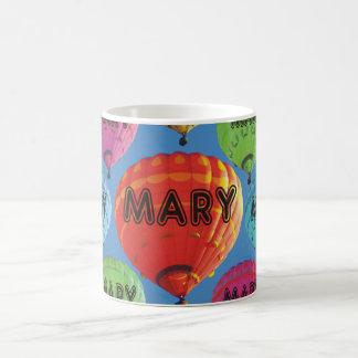 Balão de ar quente de Mary Caneca De Café