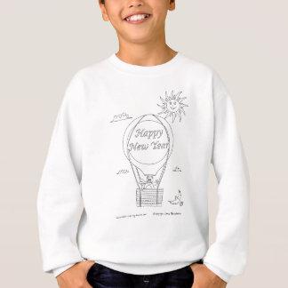 Balão do ano novo t-shirts