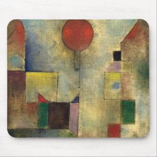 Balão do vermelho de Paul Klee Mouse Pad