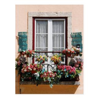 Balcão da janela de Lisbon´s Cartão Postal