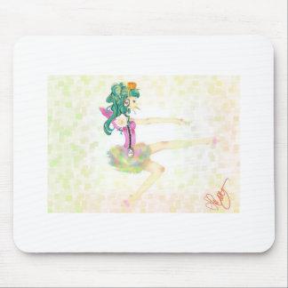Balé engraçado mouse pad
