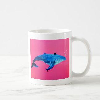 baleia de humpback caneca de café