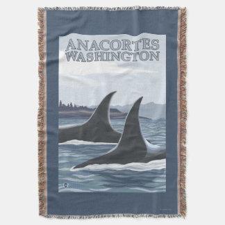 Baleias #1 da orca - Anacortes, Washington Coberta