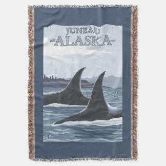 Baleias #1 da orca - Juneau, Alaska Coberta