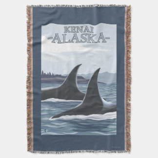 Baleias #1 da orca - Kenai, Alaska Manta