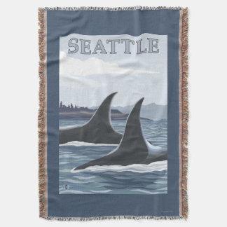 Baleias #1 da orca - Seattle, Washington Coberta