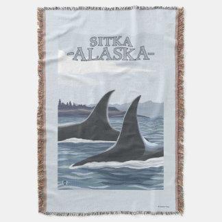 Baleias #1 da orca - Sitka, Alaska Coberta