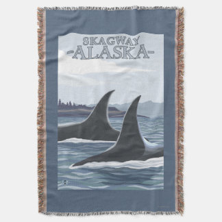 Baleias #1 da orca - Skagway, Alaska Coberta