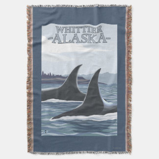 Baleias #1 da orca - Whittier, Alaska Coberta