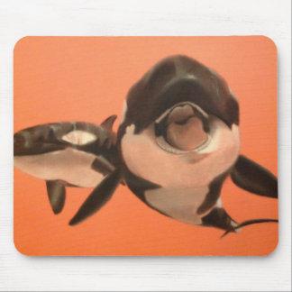 Baleias de assassino   mouse pad