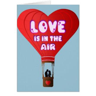 balloon LOVE Cartão Comemorativo