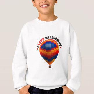 Ballooning do balão de ar quente tshirt