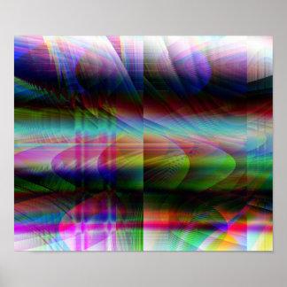"""Balloons"" o impressão do poster da arte abstracta"