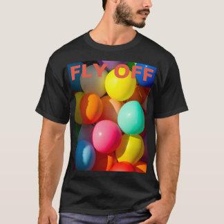 Balões coloridos do brinquedo t-shirt