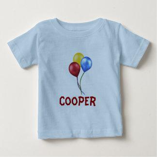 Balões com nome camisetas