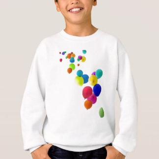 balões que flutuam para cima tshirt