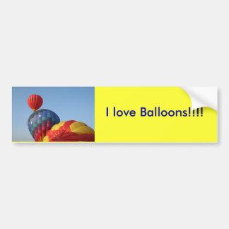 Balões!  Saturn e estrelas Adesivo Para Carro