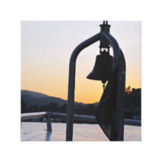 Balsa Bell de Como do lago Impressão Em Tela