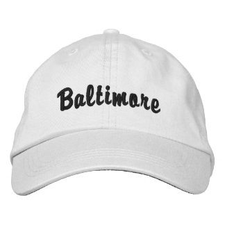 Baltimore Boné Bordado