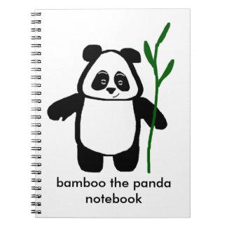 Bambu o caderno da panda