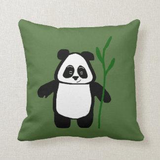 Bambu o coxim da panda almofada