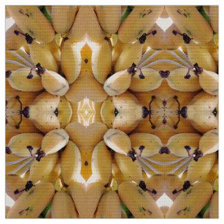 Bananas havaianas tecido
