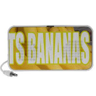 Bananas Yo de Dats Caixinhas De Som De Viagem