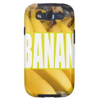 Bananas Yo de Dats Galaxy S3 Capas