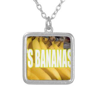 Bananas Yo de Dats Colar Personalizado